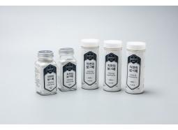 [케이솔트] 자연의보배소금 220g 4종 세트(용기타입) / 구운소금+생활죽염+마늘소금+함초소금
