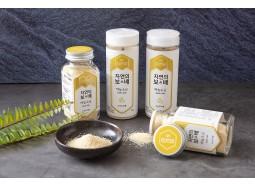 [케이솔트] 자연의보배소금 160g 5종세트 (유리병타입) / 구운소금+생활죽염+마늘소금+양파소금+함초소금